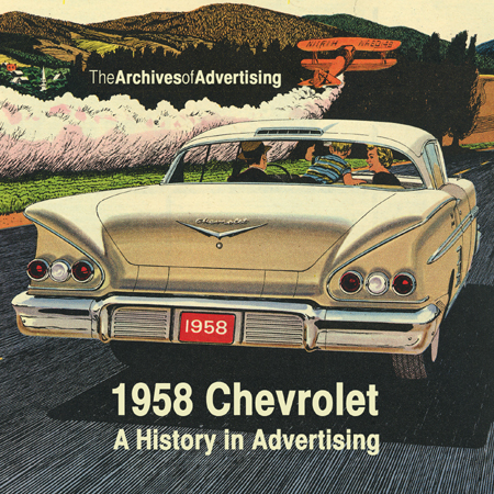 1958 Chevrolet ad CD-ROM 75+ ads!
