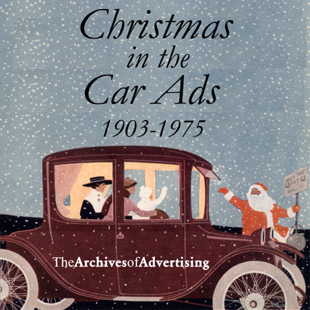 Christmas in the Car Ads CD 130 ads 1903-75! Ford!