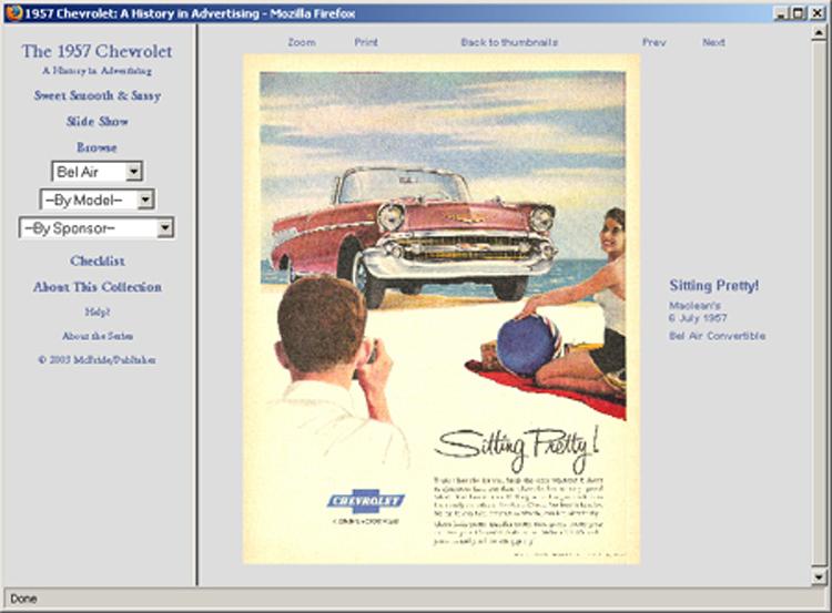 1957 Chevrolet ad CD-ROM over 100 ads! Bel Air Biscayne Nomad 210 ++