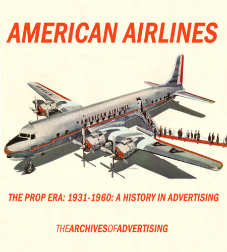 American Airlines ad CD The Prop Era 1931-1960 over 300 different ads!