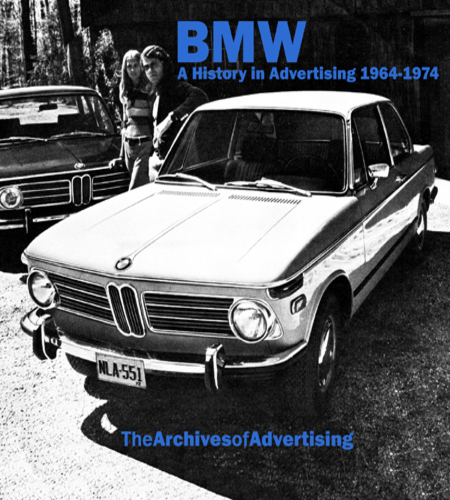 BMW 1964-1976 ad CD 1600 2002 2800 Bavaria ++ 100+ ads!