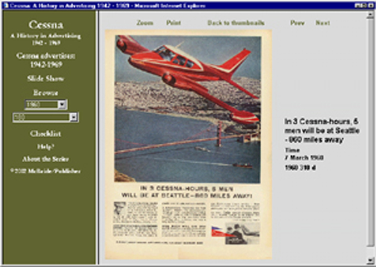 Cessna ad CD: 140+ ads 1942-1969 170 210 310 Skywagon T-37 more!