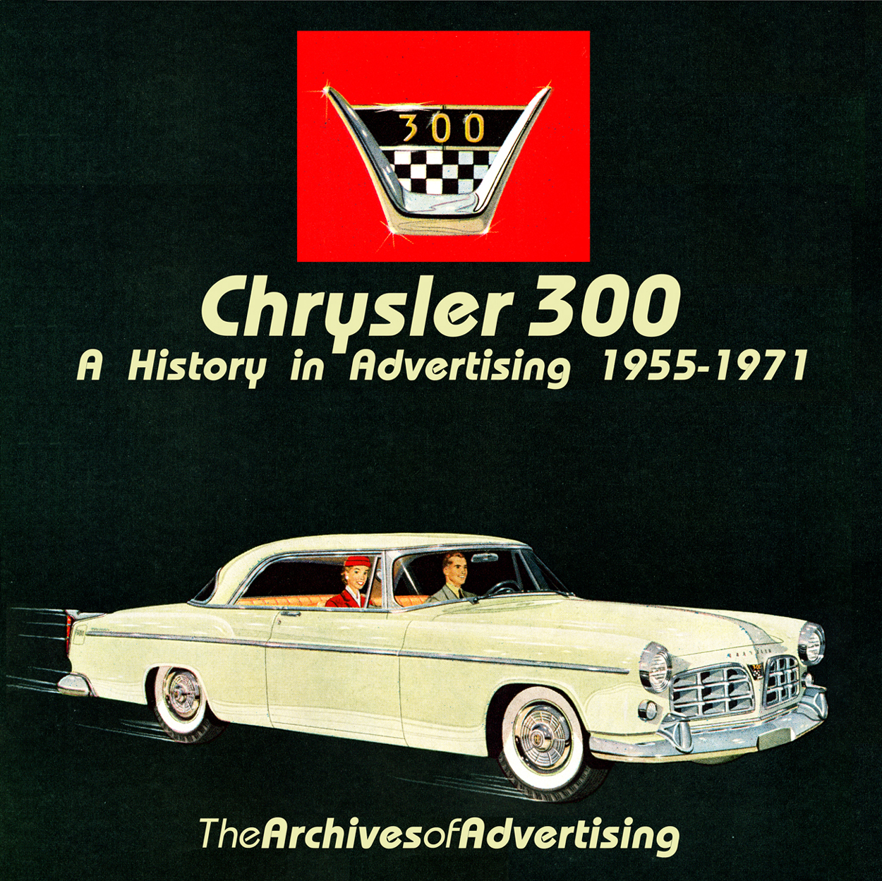 1955 1956 1957 1958 1959 1960 1961 1962 1963-1970 Chrysler 300 ad CD-ROM 80+ ads