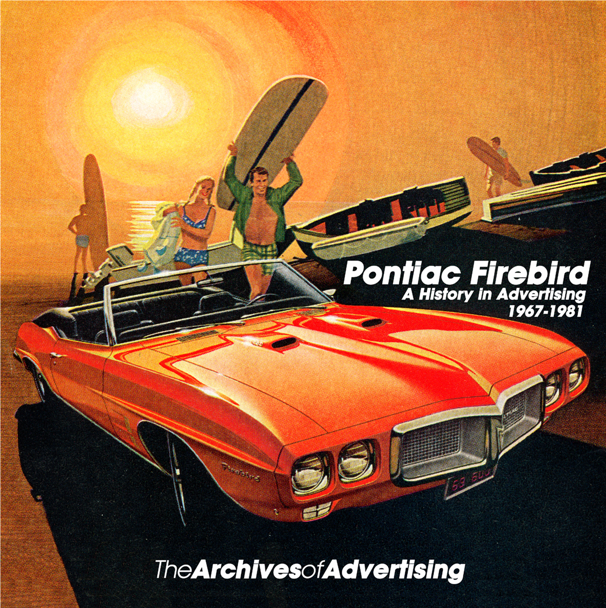 1967 1968 1969 1970 1971 1972 1973 1974 1975-1981 Pontiac Firebird ad CD 75+ ads
