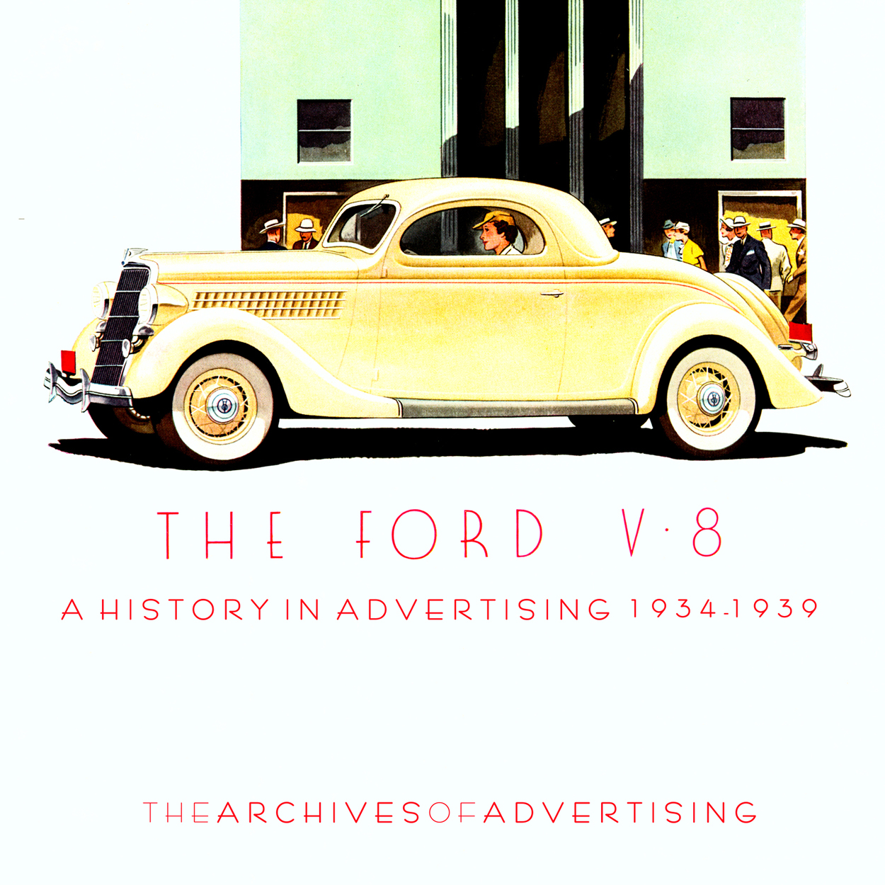 1934 1935 1936 1937 1938 1939 Ford V-8 V8 ad CD-ROM: 160+ ads!