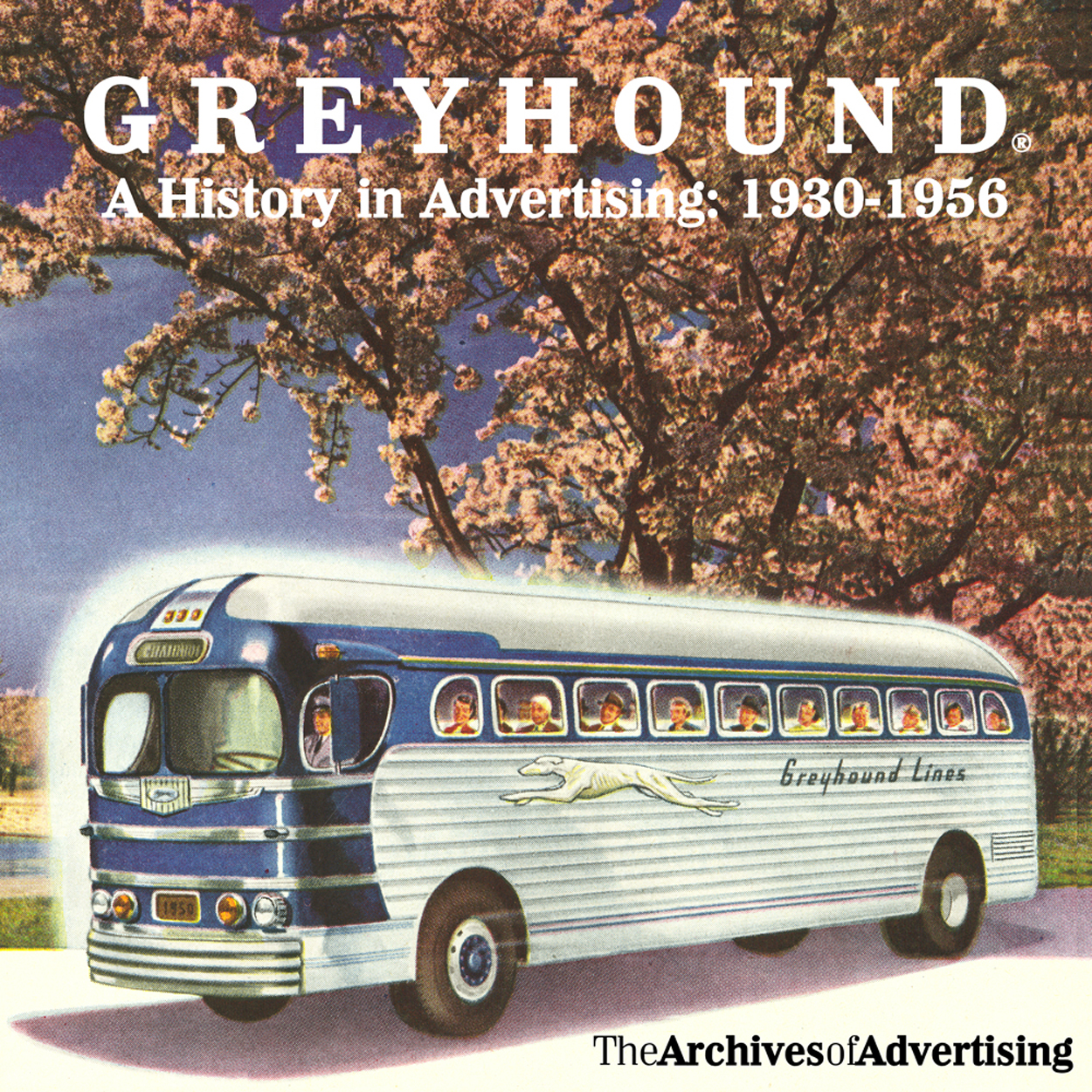 Greyhound Bus ad CD-ROM 130+ ads 1930s-1950s Scenicruiser