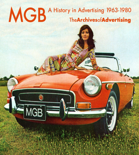 MGB & MGB/GT ad CD 120+ different ads 1963-1980