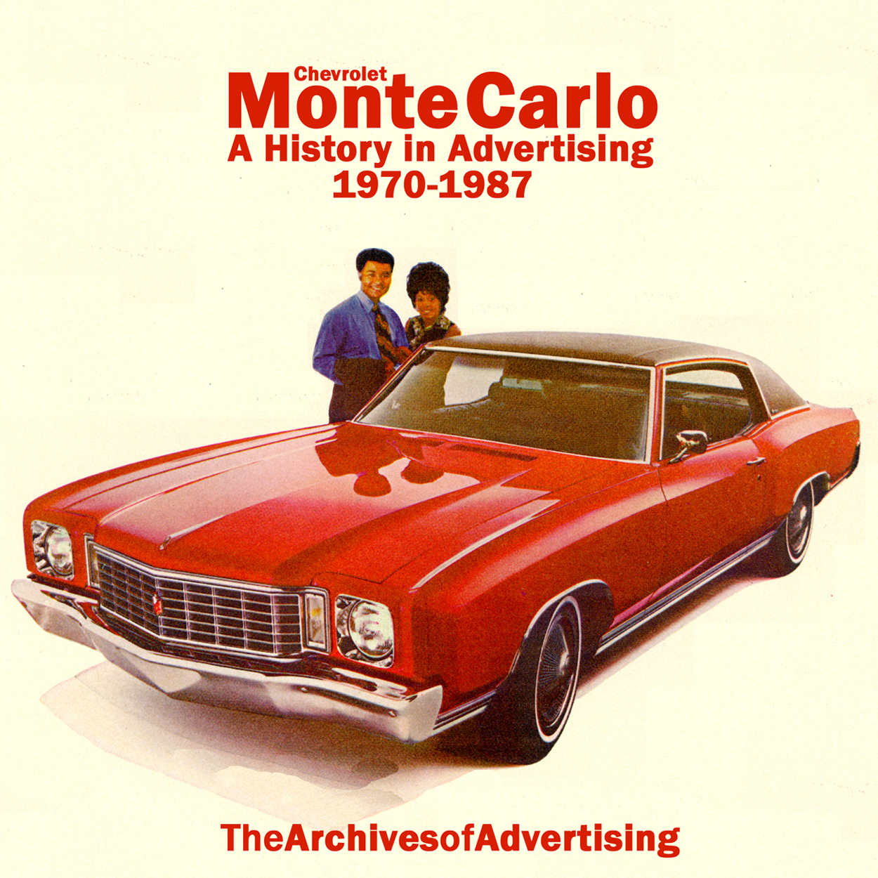 1970 1971 1972 1973 1974 1975 1976 1977-1987 Chevrolet Monte Carlo ad CD 90+ ads