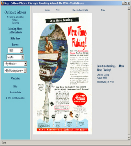 1950s Outboard Motor ad CD 100 ads Evinrude Mercury Atwater Johnson Scott ++