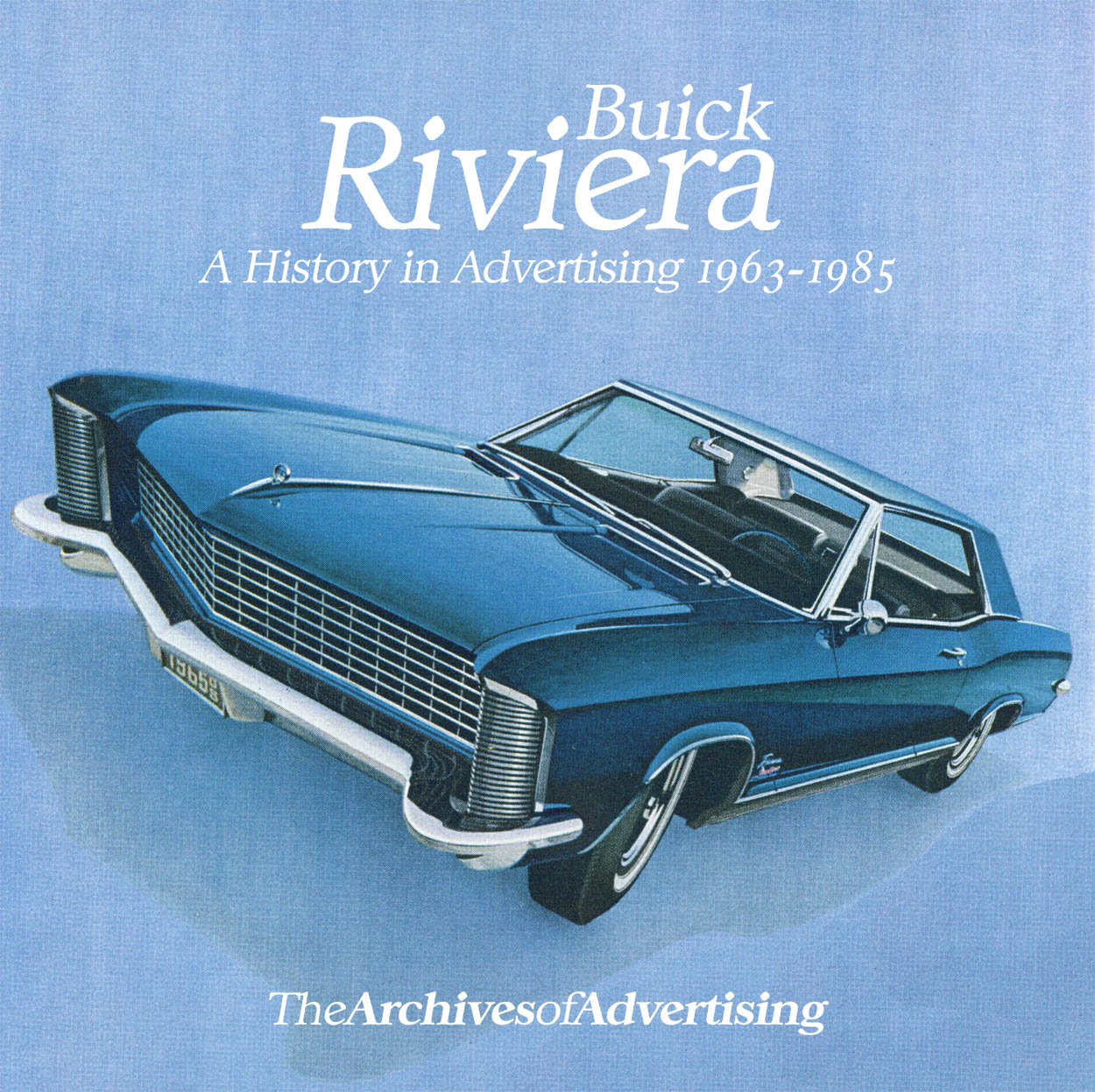 1963 1964 1965 1966 1967 1968 1969 1970 1971-1985 Buick Riviera Ad CD-ROM 95 ads
