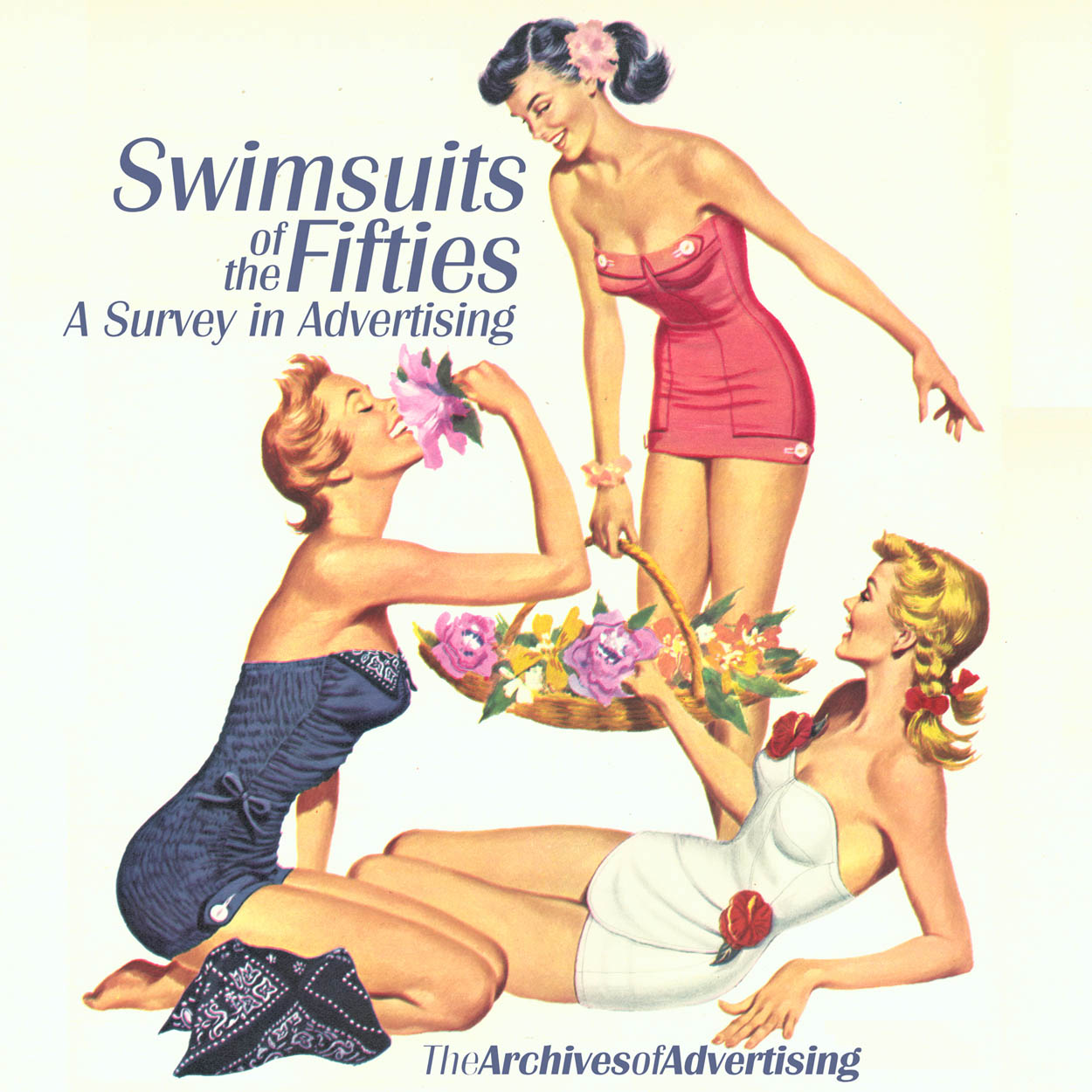 1950s Swimsuit ad CD-ROM 100 different ads! swim suit bathing suit