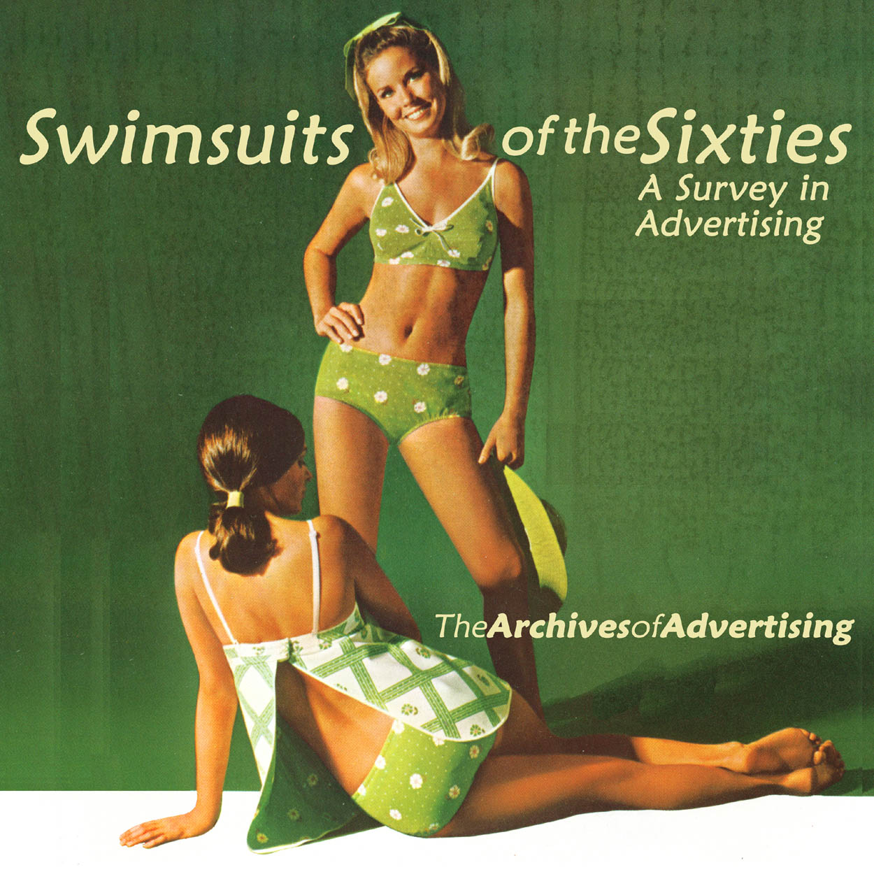 1960s Swimsuit ad CD-ROM 100 different ads! swim suit bathing suit