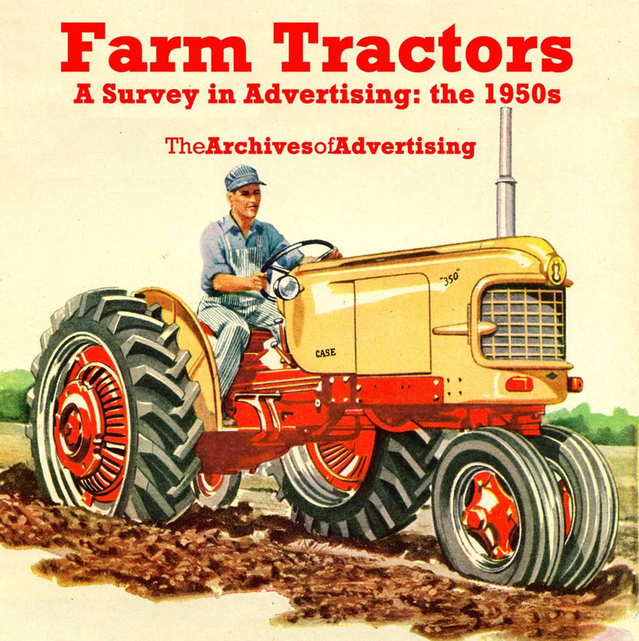 Farm Tractor ad CD-ROM: 100 ads of the 1950s Deere Oliver Case Massey-Ferguson +