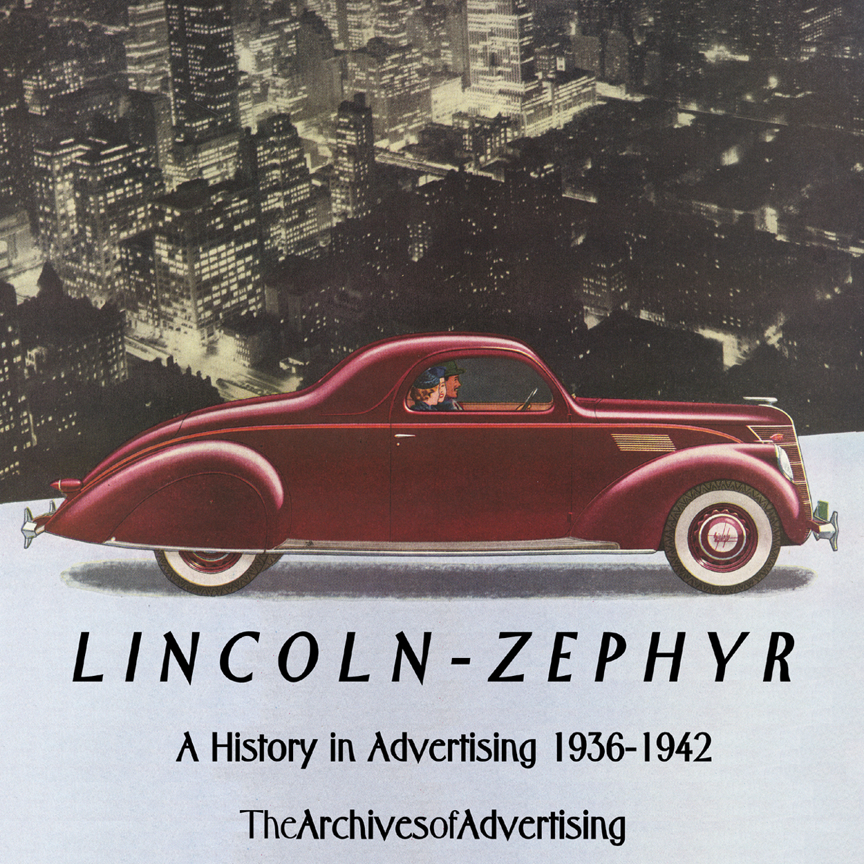 1936 1937 1938 1939 1940 1941 1942 Lincoln Zephyr ad CD 80+ ads!