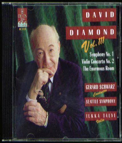 Image for David Diamond Symphony #1 ++ Talvi CD