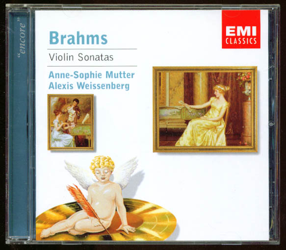 Anne-Sophie Mutter: Brahms Violin Sonatas CD EMI