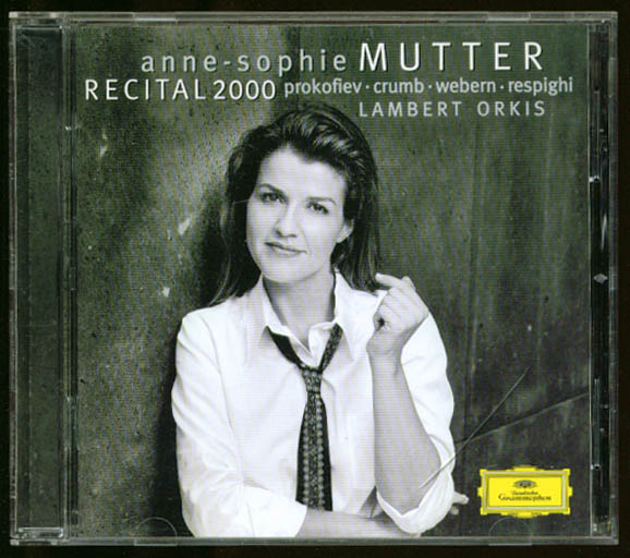 Anne-Sophie Mutter Recital 2000 Prokofiev + CD DGG