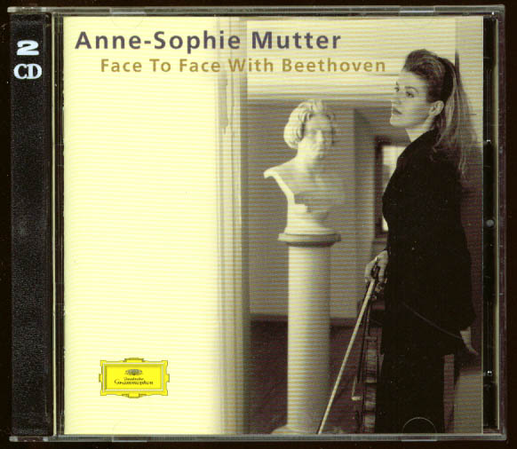 Anne-Sophie Mutter Face to Face with Beethoven CD DGG