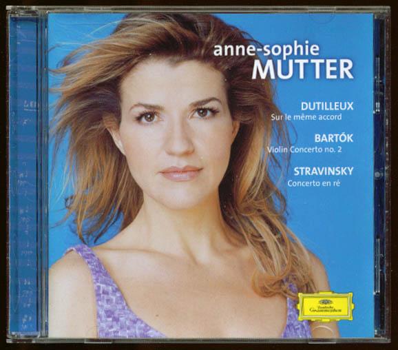 Anne-Sophie Mutter: Dutilleux Bartok Stranvinsky CD DGG