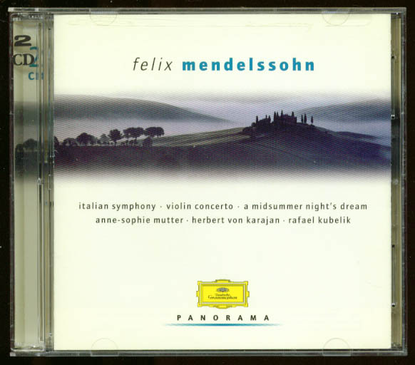 Anne-Sophie Mutter: Mendelssohn Violin Concerto+ CD DGG