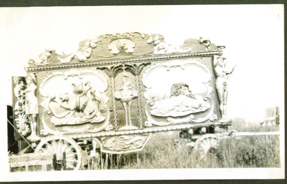 Image for Hagenbeck Wallace Circus Lion Snake Bandwagon
