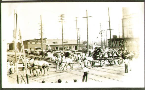 Hagenbeck Wallace Carrillon Chimes wagon 1934