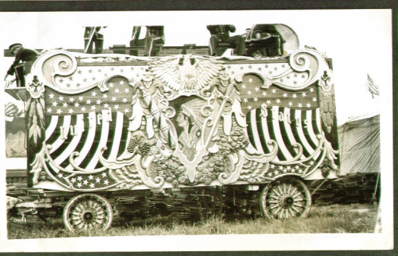 Image for Robbins Bros Circus U S Tableau Wagon 1938 #2