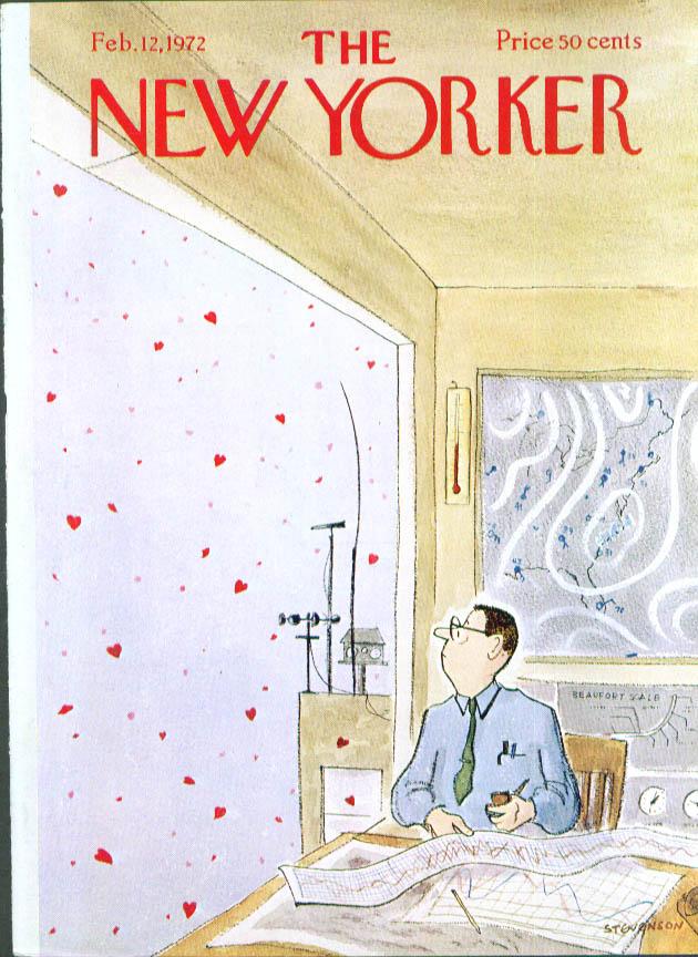 New Yorker cover Stevenson heart storm 2/12 1972