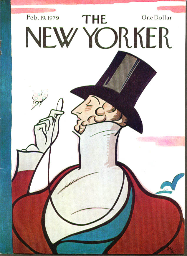 New Yorker cover Irvin Eustace Tilley 2/19 1979