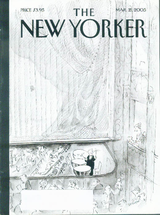 Image for New Yorker cover Mark Ulriksen tympanist's family admires his moment 3/21 2005