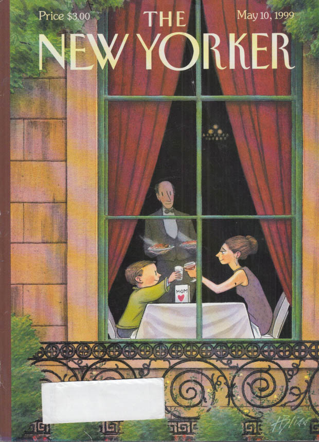 New Yorker cover Bliss rich Mother's Day 5/10 1999