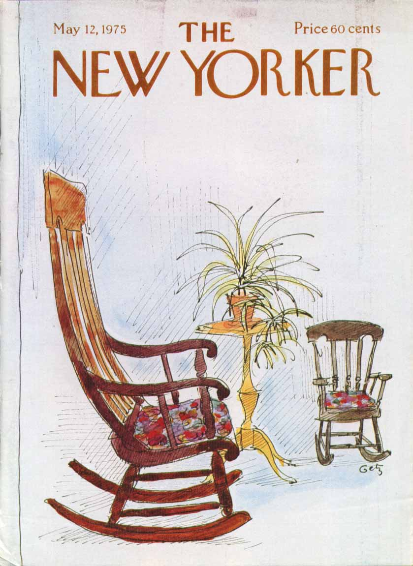 New Yorker cover Getz big & little rockers 5/12 1975