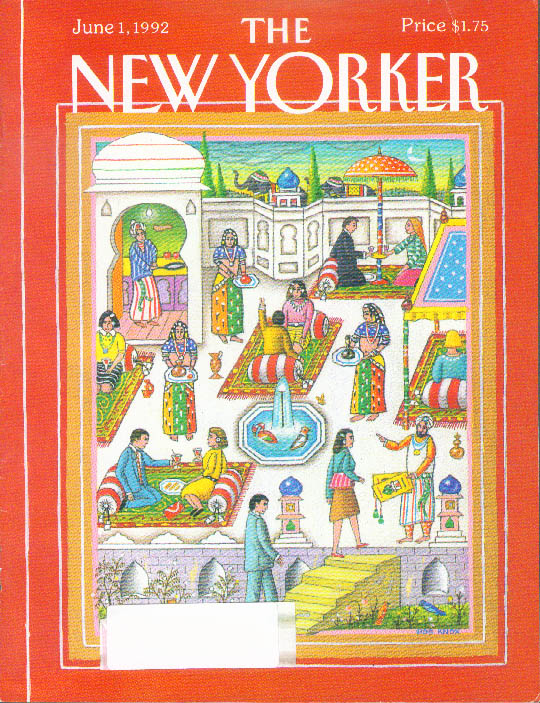 Image for New Yorker cover Knox yuppies in India 6/1 1992