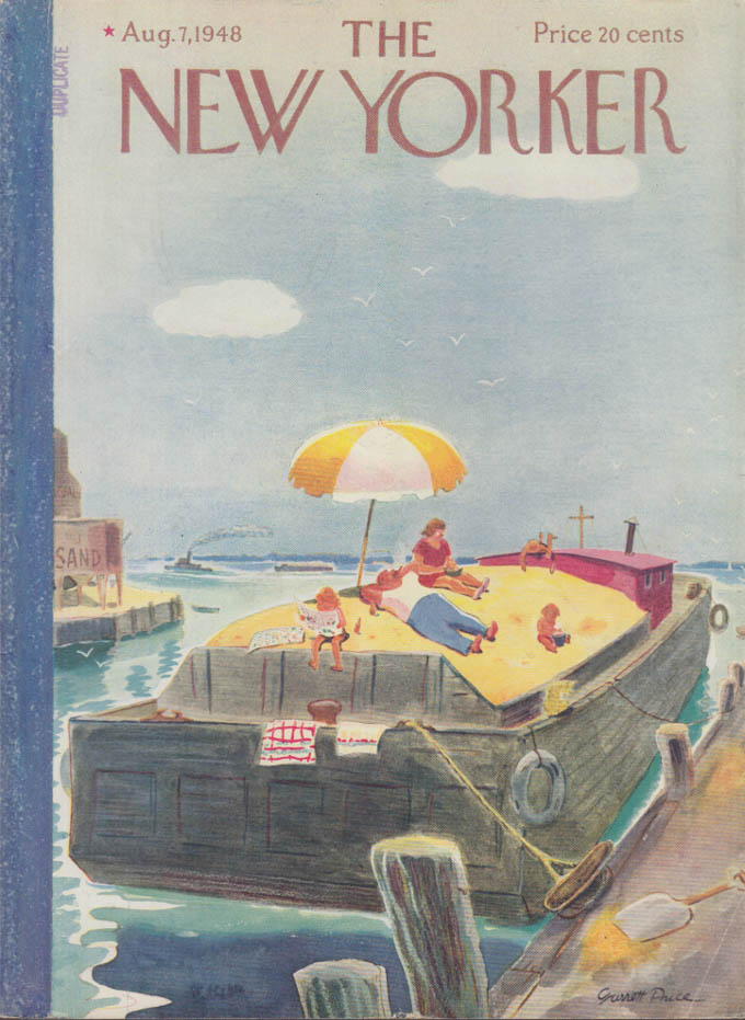 New Yorker cover Price hikers v puddle jumpers 8/7 1948