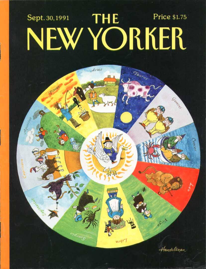 New Yorker cover Handelsman Mother Goose 9/30 1991
