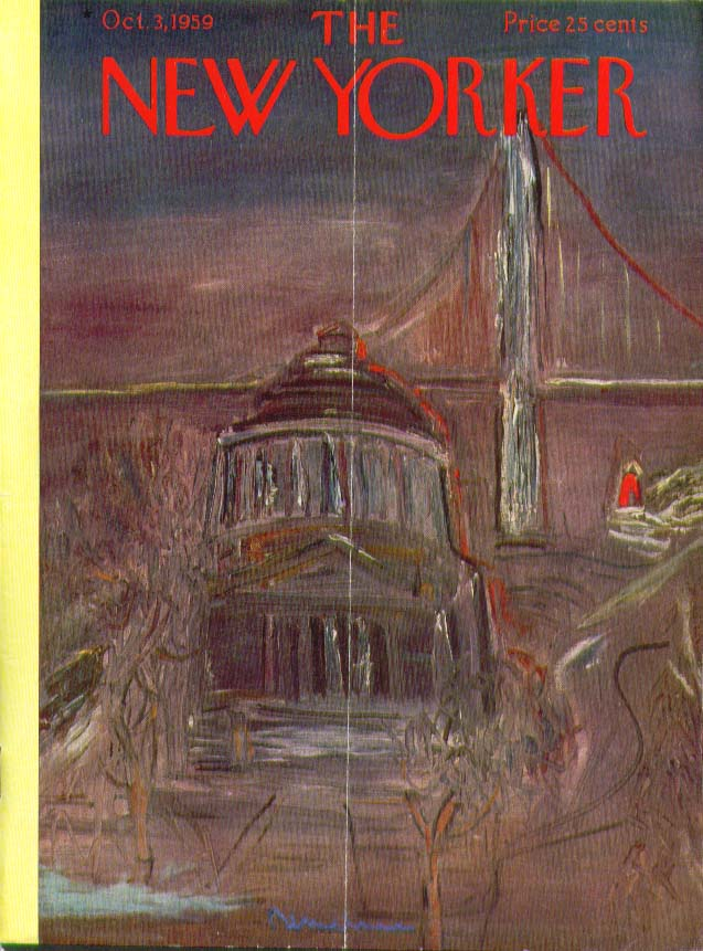 Image for New Yorker cover Barlow Grant's Tomb 10/3 1959