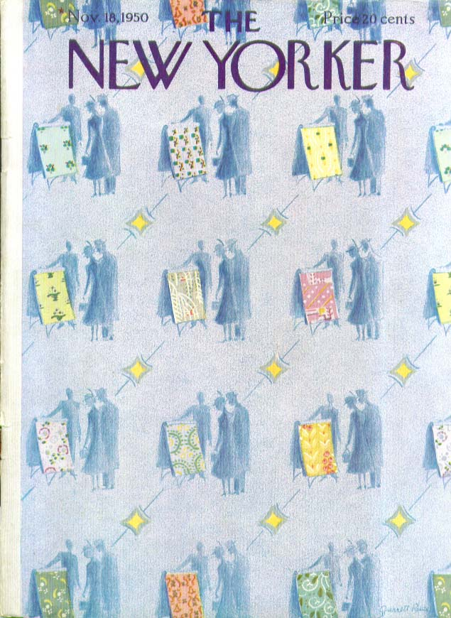 New Yorker cover Price wallpaper choices 11/18 1950