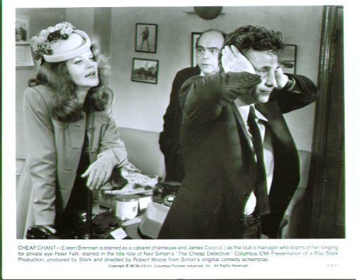 Image for Peter Falk Eileen Brennan Cheap Detective pic