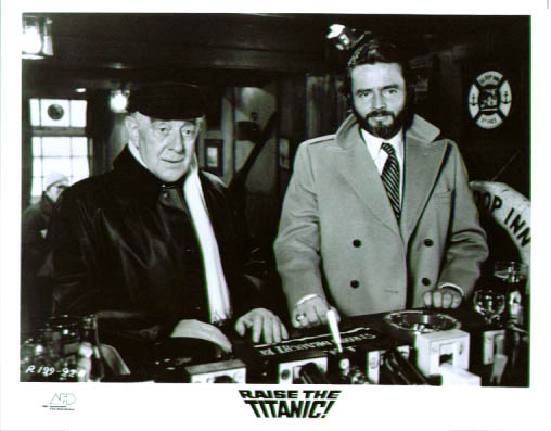 Image for Alec Guinness Raise the Titanic 8x10 still
