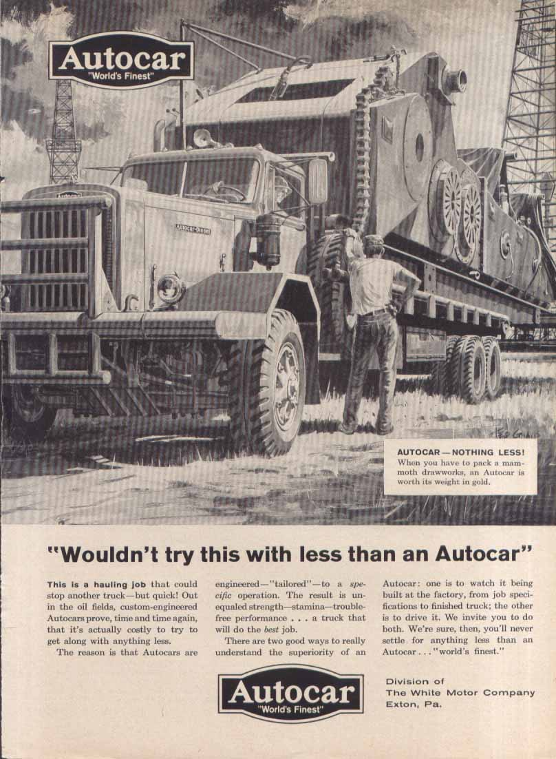 Image for Wouldn't try with less than Autocar ad 1959