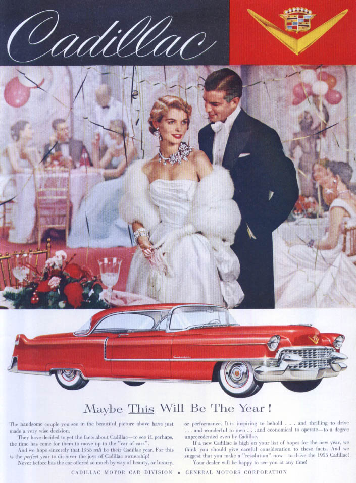 Cadillac Maybe This Will Be The Year ad 1955