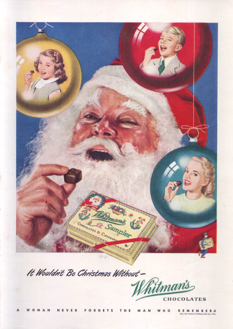 Image for Wouldn't be Christmas without Whitman's Chocolates 1947