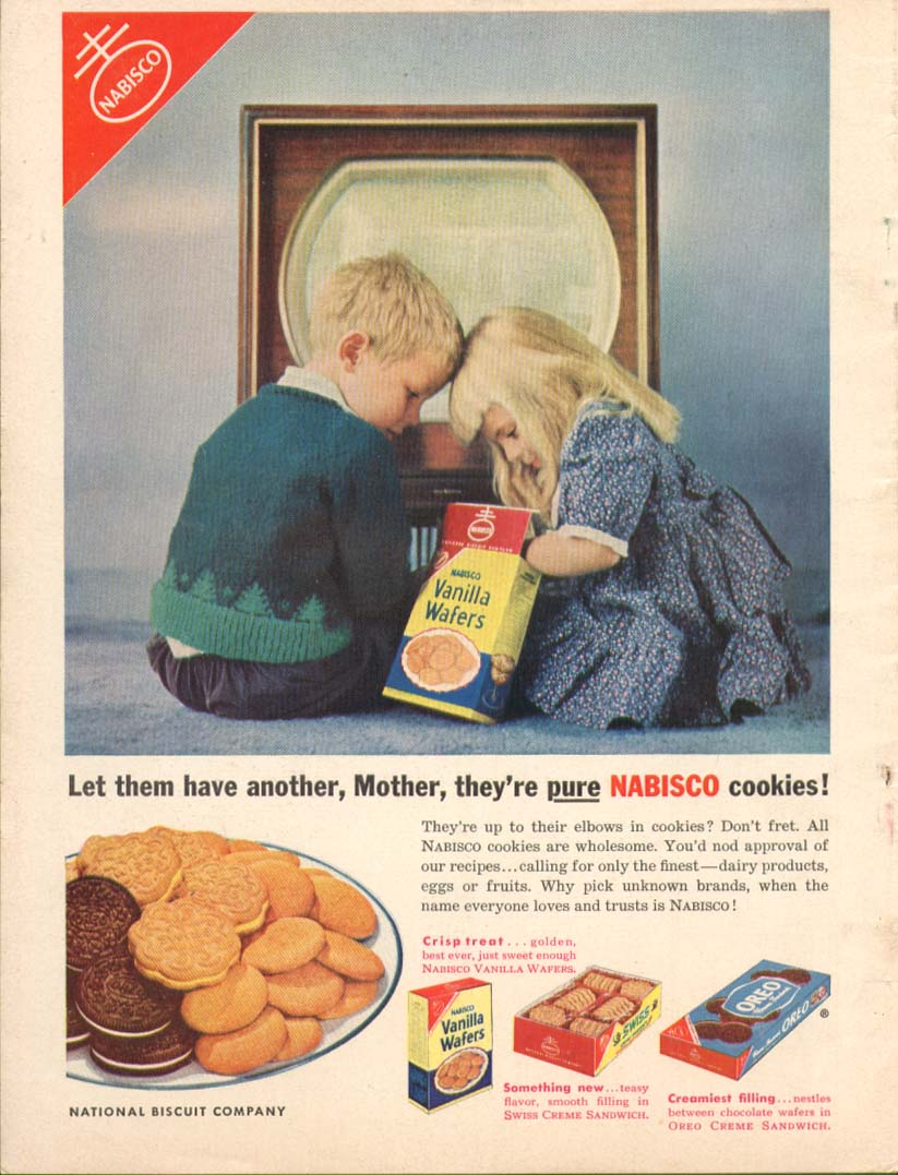 Have another Mother at TV Nabisco Oreo ++ ad 1953