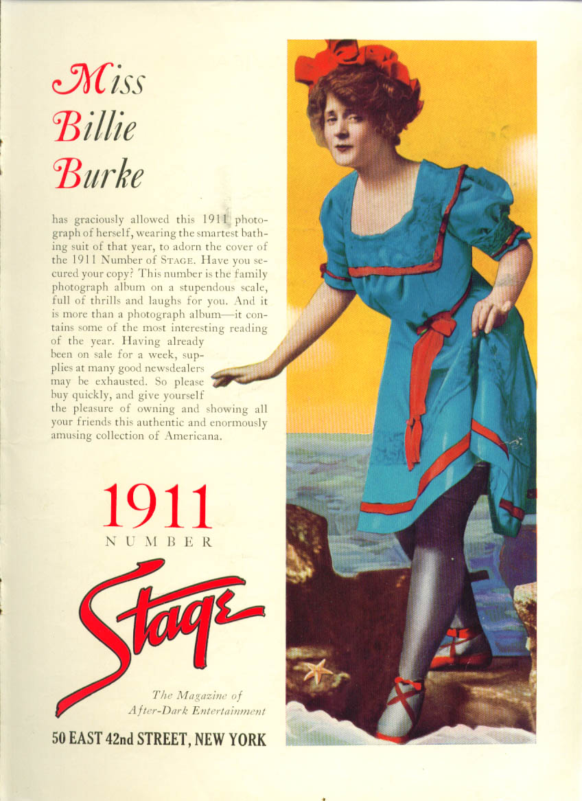 Image for Billie Burke for Stage Magazine ad 1936