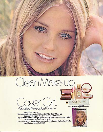 an analysis of the clean make up advertisement by cover girl Lipstick analysis a lipstick print  moves up the paper,  the lip of the beaker and cover with a plastic petri dish make sure that strips are.