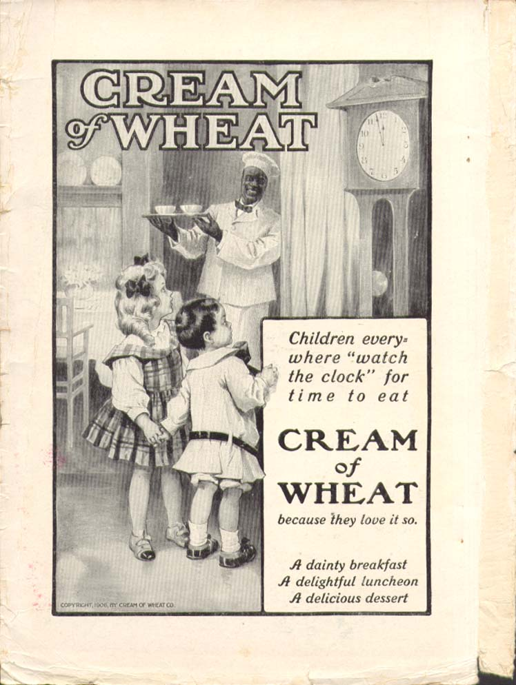 Image for Children Watch the Clock Cream of Wheat ad 1910
