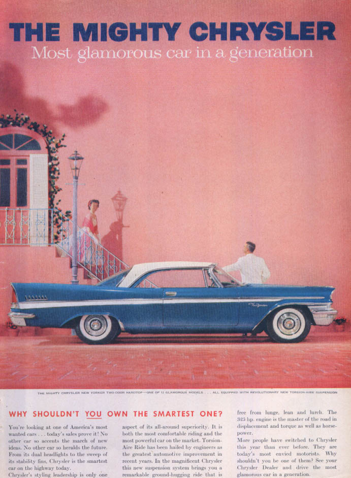 Image for Chrysler New Yorker shouldn't you own smartest ad 1957