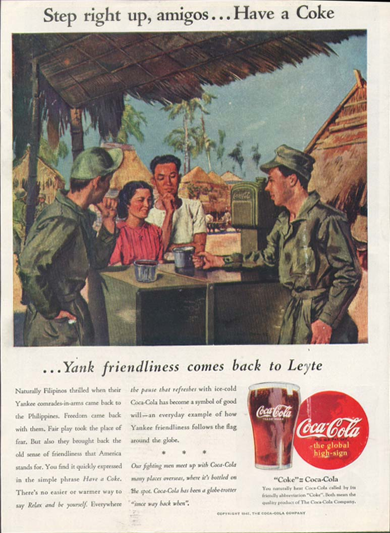 Image for Step right up amigos. . . Have a Coca-Cola ad 1945