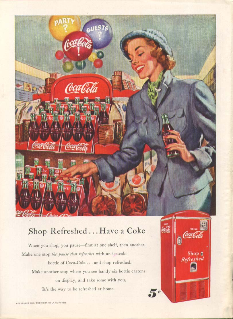 Image for Shop Refreshed Have a Coca-Cola ad 6-pack vending