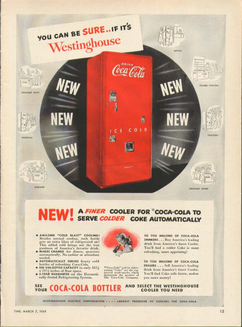 Westinghouse-coca-cola-wb-66 | Cola Vending Machines